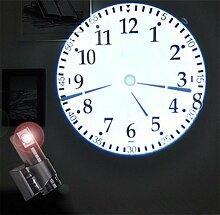 Horloge de projection à LED Horloge de mur