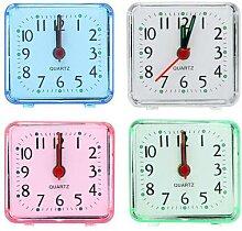 Horloge de réveil rétro avec commande vocale,