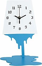 Horloge de table Abstrait art horloge horloge