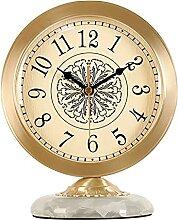 Horloge de Table Horloge de table luxe pure laiton
