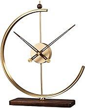 Horloge de Table Horloge laiton bureau horloge