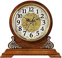 Horloge de Table Horloge Style chinois Rétro Mute
