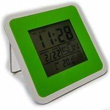 Horloge digitale multifonction Verte / calendrier