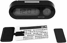 Horloge électronique de voiture Thermomètre