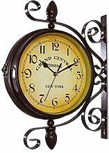 Horloge extérieure, Horloge Murale de Jardin