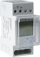 Horloge hebdomadaire digitale automatique 2