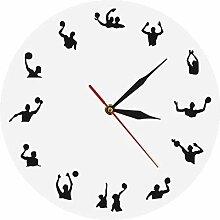 Horloge Horloge Murale Water Polo Design