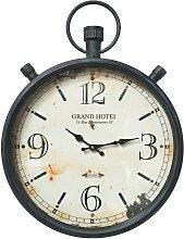 Horloge industrielle de gare montre à gousset fer
