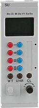 Horloge interrupteur digitale 45x130 mm Viessmann