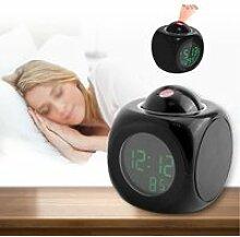 Horloge LCD, Horloge de projection Réveil LED