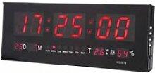 Horloge LED Murale Numérique Grande Température