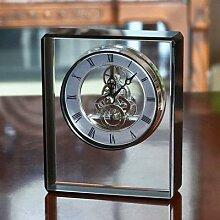 Horloge mécanique européenne, décoration de