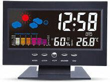 Horloge météo électronique perle rare avec