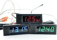 Horloge multifonction de haute précision, 12v DC,