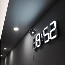 Horloge murale 3D LED, Design moderne, horloge de