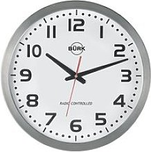 Horloge murale, Ø400 mm - boîtier en inox