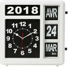 Horloge Murale À Chiffres Sautants Avec