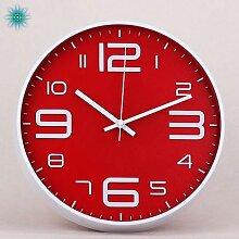 Horloge murale à Quartz, Design Simple, moderne