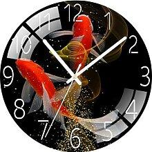 Horloge murale à quartz, silencieuse, créative,