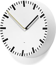 Horloge murale ANALOG de Hay, Blanc