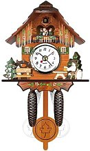 Horloge murale Antique en bois pour coucou,