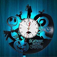 Horloge Murale avec Inscription « Nightmare