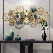 Horloge Murale chinoise créative en fer,
