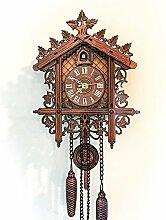 Horloge Murale Coucou Pendule En Bois Horloges