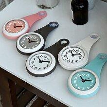 Horloge murale de cuisine et salle de bain,