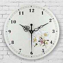 Horloge murale de style méditerranéen,