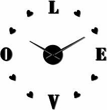 Horloge Murale Décoration De Mariage D'Amour