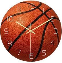 Horloge murale Design de basket-ball, mouvement