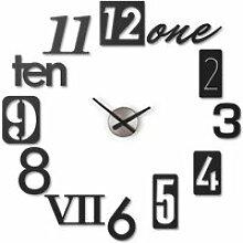 Horloge murale design numbra  - umbra