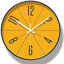Horloge murale, Design rond, créative et moderne,