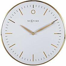 Horloge Murale Design - Silencieuse - Blanc - 30cm