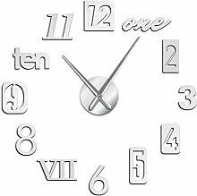 Horloge Murale Différents Types De Nombres 3D