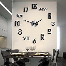 Horloge murale digitale Acrylique simple et