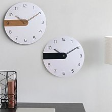 Horloge murale en bois de 30cm, Design moderne,