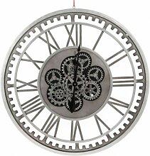 Horloge murale en métal - Leo