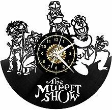 Horloge Murale en Vinyle Unique The Muppet Show -