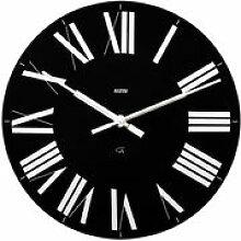Horloge murale Firenze - Alessi noir en matière