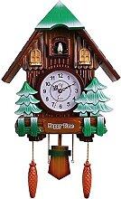 Horloge Murale Grande Horloge Coucou Silencieuse