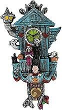 Horloge Murale Halloween, Speyang Cauchemar avant