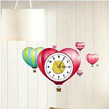 Horloge Murale Horloge Murale Drôle 3D Cassé