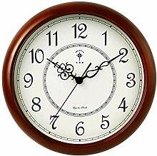 horloge murale Horloge murale en bois massif