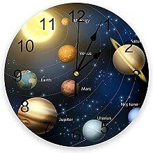 Horloge Murale Horloge Murale Système Solaire