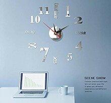 Horloge Murale Horloges Murales 3D Stickers Muraux