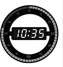 horloge murale LED 3D Horloge murale numérique