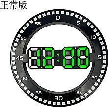 horloge murale LED Horloge murale numérique 3D