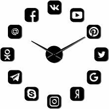 Horloge Murale Logiciel De Communication Sans